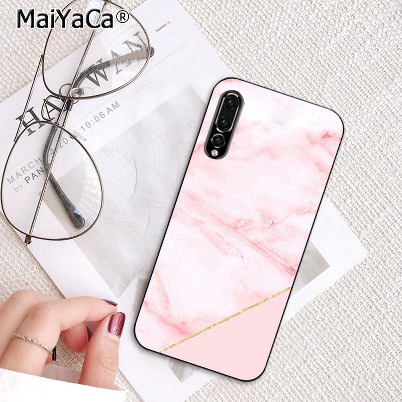 Gold Black Pink White marble collage fashion