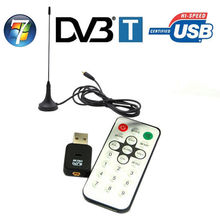 USB 2.0 Digital Mini DVB-T HDTV TV Tuner USB Stick Recorder Receiver for Laptop