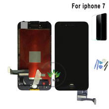 For Iphone 7 7 plus Lcd Screen Display 4.7 or 5.5 inch For Iphone7 Lcd Screen And Touch Digitizer Assembly black white