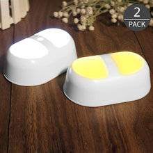 2017 New Product Capsule Human Induction Motion Sense LED Night Light Energy Saving Creative Cartoon for Everywhere 2 Pack(China)