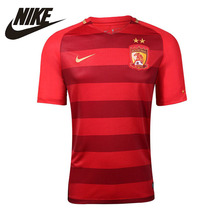 NIKE Original 2016 New Arrival Mens Football Jerseys Breathable Sportswear Short Sleeve Quick Drying For Men #849158-611