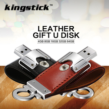 High Speed Leather pen drive 32GB 64gb usb flash drive 16gb 8gb 4gb Cool pendrive memory stick gift for tablet