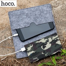 Original HOCO 13000mAh Powerbank Camouflage External Battery Pack Power Bank Mobile Phone Powerbank Backup Charger for Phone(China)