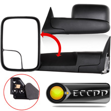 Eccpp Manual Towing Mirror Left Right Rearview Mirrors Pair Set For Dodge 1994 - 2001 Ram 1500 1994 - 2002 Ram 2500 3500 Truck(China)