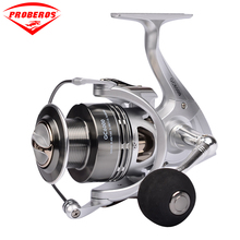 New Design Carbon Fiber Fishing Reel 3000-6000 Series Spinning Reel 6+1BB Stainless Steel Bearing anti-seawater Wheel(China)