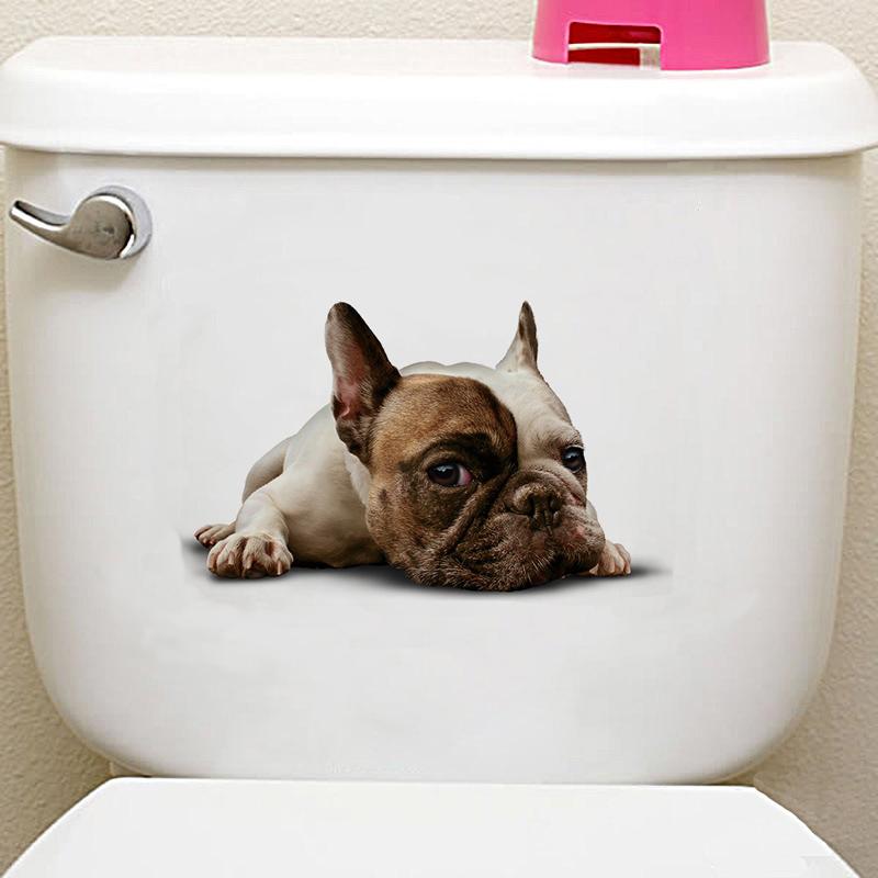 3d cats hamster wall sticker for bathroom 3D Cats Hamster Wall Sticker For Bathroom HTB10e8gXpkoBKNjSZFEq6zrEVXai