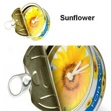 [In Stock] Sunflower Magnetic Cheap Wall Clocks,Cheap Desk Clocks,Cheap Table Function Clocks in Free Shipping(China)