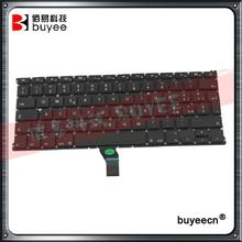 A1369 A1466 Italian IT Language Keyboard 13 Inch For Macbook Air Laptop Part Italy Keyboard MD231 MD232 MC503 MC504 Tested OK