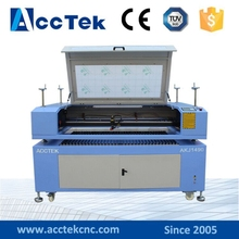 Laser head removable table CO2 laser engraving cutting machine AKJ1490 equipment for advertising industry