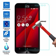 Glass Screen Protector Case For Asus Zenfone GO ZB500KG ZB500KL ZB551KL 2 ZE551ML 5 Zenfone 2 Laser ZE500KL ZE550KL ZB452KG live(China)