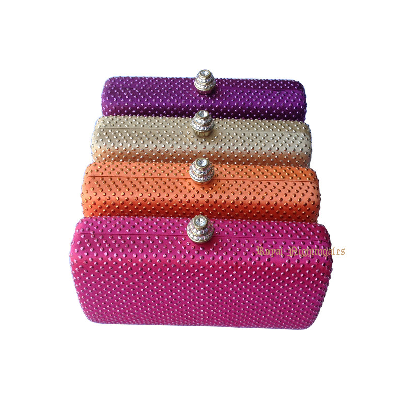 Cheap Hard Case Box Clutch Bag with Crystal Rhinestone Evening Bags for Wedding Bridal Party Evening<br><br>Aliexpress
