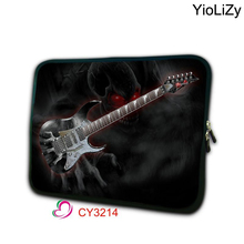 guitar print computer Bag 7.9 notebook sleeve mini laptop bag 7 tablet cover tablet protective case for ipad mini TB-3214(China)
