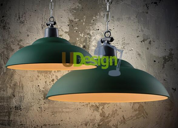 free shipping Loft vintage style Metal painting restaurant pendant lights lamp<br><br>Aliexpress
