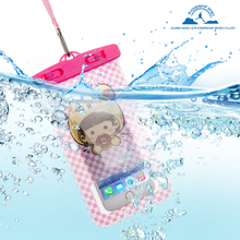 Promostu waterproof phone bag,outdoor camping hunting phone cover(China)