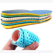 1pair Stretch Breathable Deodorant Shoe Running Cushion Insoles Pad Insert 35-40(China)