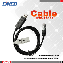 CC-USB-RS485-150U, communication cable of EP solar controller, EPEVER controller connected to PC(China)
