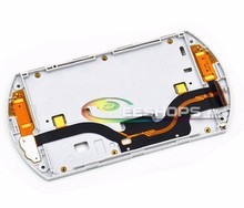 Original Bottom Lower Shell Case With Display Screen Flex Cable for Sony PSP GO PSPGo Game Console Replacement Repair Part