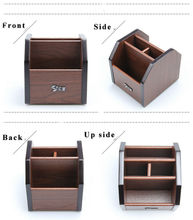 Mini Office Desk Accessories Small Wooden Dest Set Office Supply Wooden Office Organizer 8 Style ufficio accessori da scrivania