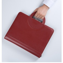 Document Bag Brief Case A4 With Code Lock Office Portfilio with Hang Spiral Binder Calculator