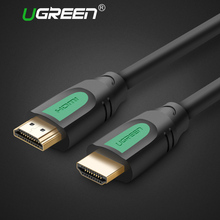 Ugreen HDMI to HDMI Cable 5m 10m 3m 2m 1m Support 3D 4K HDMI Cable 2.0 for Projector wii TV Mac Golden HDMI Connector