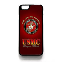 USMC MARINE CORPS SEMPER FI FIDELIS fashion phone Case cover for iphone 4 4S 5 5S 5C SE 6 6 plus 6s 6s plus 7 7 plus FD461