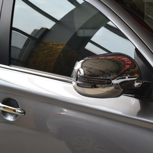 China Manufacture Car Accessories ABS Chrome Door/Side Mirror Cover For Mitsubishi For Outlander 2013