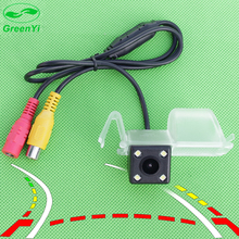 GreenYi Dynamic Trajectory Reversing Back up Camera Car Parking Camera Rear View Camera for Chevrolet Cruze 2015(China)