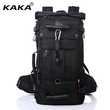 KAKA Men Backpack Travel Bag Large Capacity Versatile Utility Mountaineering Multifunctional Waterproof Backpack Luggage Bag(China)