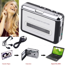 Portable Old Cassette Tape CD Convert to MP3 WAV Converter Cassette To USB Audio Capture Walkman Music Player with Earphone(China)