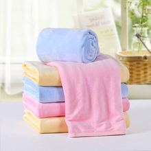 code solid velvet keep warm soft comfortable  strong water absorption close to the skin baby bath towel b1TRQ0103