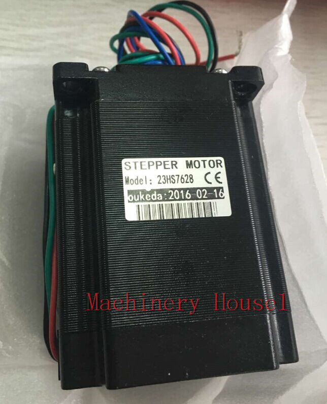 1pc Nema23 Stepper Motor 23HS7628 4-Lead 76mm 2.8A Bipolar CE ISO ROHS CNC Router Engraving Machine<br><br>Aliexpress