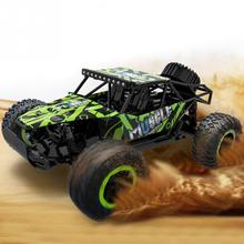 RC Cars ABS Off-road vehicle 1/16 Scale 2.4Ghz 4 Wheel Drive Car Remote Control Car Toys(China)