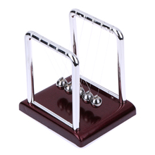New Design Hot Sale Early Fun Development Educational Desk Toy Gift Newtons Cradle Steel Balance Ball Physics Science Pendulum