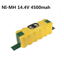 14.4V 4500mAh Ni-MH Battery Replacement for Authentic Irobot Roomba 500 600 700 Series Battery 555 595 620 630 650 660 790