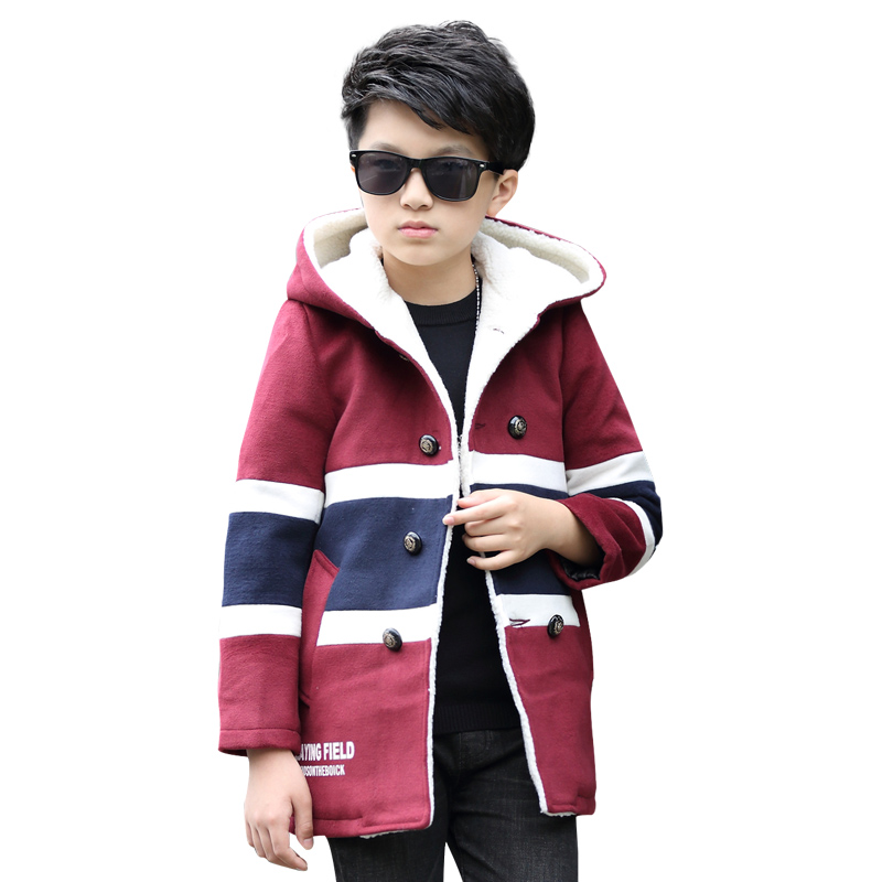 Childrens clothes, 2017 hot style British fashion boy jacket cuhk child upset spell color coat coat<br><br>Aliexpress