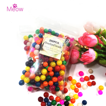 200pcs/lot 30-50mm Big Crystal Soil Mud Hydrogel Gel Kids Toy Water Beads Growing Up Water Balls Wedding Home Flower Decoration(China)