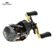 12+1BB Right Left Hand Bait Casting Fishing Reel Water Drop Reel Wheel G-ratio 6.3:1 Metal Magnetic Break Systems  Pesca