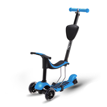Multinfunction 3 in 1 3-Wheel Scooter For Child Kick Scooter Flashing Wheel Toddler Boys Girls Tricycle monopattino per bambini