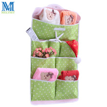 Multifunctional Dot Storage Bag Wall Pocket Baby Articles Toy Bag Hanging Organizer For Household