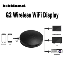 kebidumei Mini G2 Wireless WiFi Display Dongle RK3036 Receiver 1080P HD TV Stick Airplay Adapter Media for Google Chromecast 2