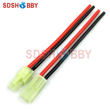 5 Pairs*16AWG Silica Gel Cable L100mm with Mini Male+ Female Tamiya Connectors