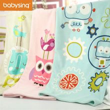Baby Nursing Blanket Coral Fleece Portable Blankie Swaddling Wrap for Strolling(China)