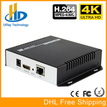 URay 4K Ultra HD HDMI To IP Video Encoder H.264 IPTV Encoder Live Streaming Encoder H264 Server With RTSP UDP HLS RTMP(China)