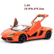 2017 new alloy metal diecast 1:24 static model cars kids toys juguetes autos a escala collection hot sale free shipping(China)