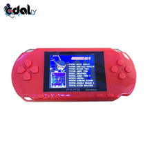 EDAL Fashion Good Gift For Children Polade 2.7inch LCD Rechargeable PSP PVP Game Console Retro Megadrive 16 Bit 150+ Games(China)