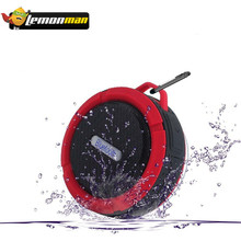 LemonMan Bluetooth Speaker Portable C6 Waterproof Wireless Stereo Speaker Support SD Cards Bluetooth Reciever MP3 Music Player(China)