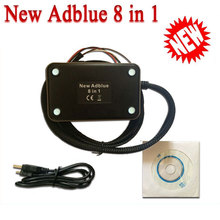 NEW Adblue Emulator with NOX 8 in 1  MAN Scania Iveco VoIvo DAF Renault Truck Adblue Emulator 8-in-1 Scanner tools tool