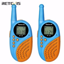 Retevis RT-35 Kids Mini Walkie Talkie PMR446 16 CH UHF 0.5W License-free Rechargeable USB Charge VOX Two Way Radio A9120(China)