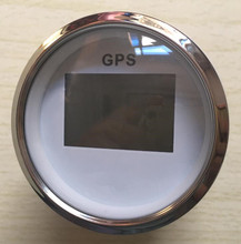 100% brand new CCSB 85mm GPS speedometer speed indicator 12v 24v with GPS antenna fit for boat or automobile(China)