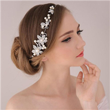 New-Arrival-Fashion-Wedding-Hair-Accessories-Statement-Pearl-Headdress-Forehead-Chain-Wedding-Hair-Accessories-Bridal